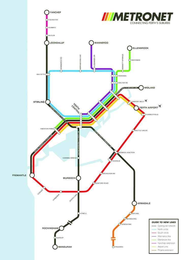 public transport plan Perth WA