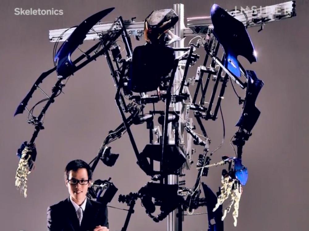 Exoskeleton skeletronics